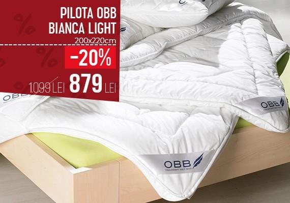 Pilota Bianca Light OBB 100% bambus