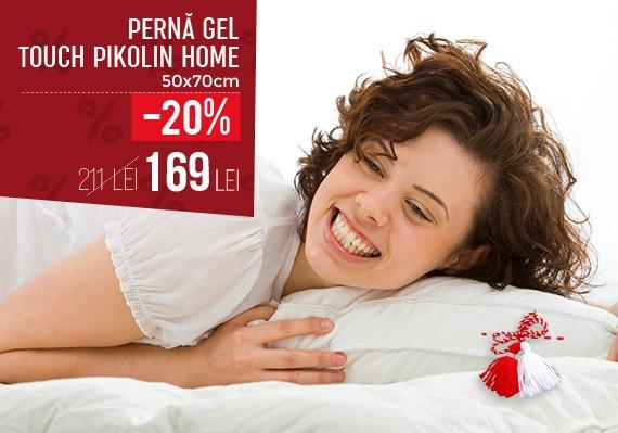 Perna TOUCHGEL Pikolin - 50x70cm