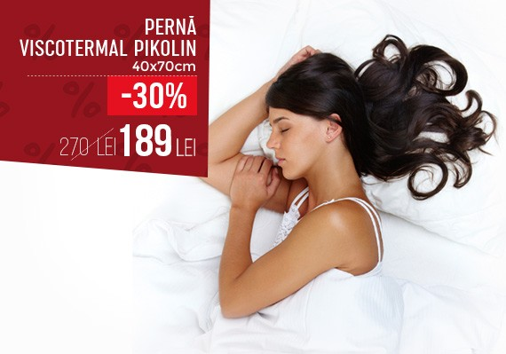 Perna Viscotermal Pikolin- 40x70cm